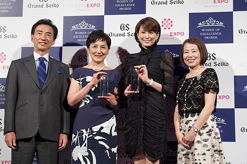 Women of Excellence Awards授賞式