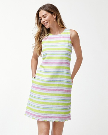 TULUM STRIPE SHIFT DRESS AF/ENERGY 1万9900円(税込) Tommy Bahama